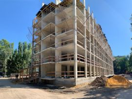 Ход строительства ЖК Галактика | Квартиры от застройщика Август 2019