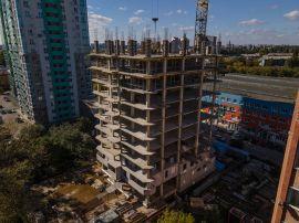 Ход строительства ЖК Парк   Квартиры от застройщика Сентябрь 2021